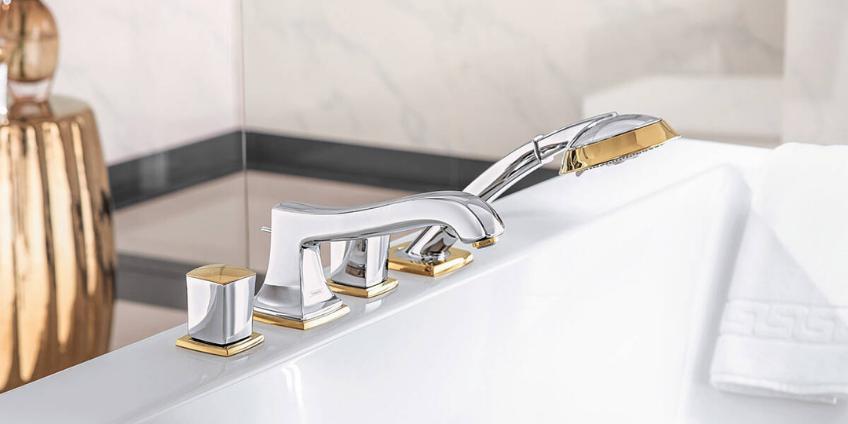 Как выбрать смеситель для ванной с душем?
