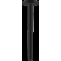Держатель душа hansgrohe потолочный S 30 см, черный матовый 27389670