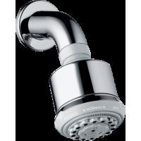 Верхний душ hansgrohe Clubmaster 3jet с насадкой для душа 27475000