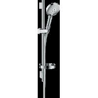 Душевой набор hansgrohe Raindance Select S 120 3jet EcoSmart с душевой штангой и мыльницей 26632000