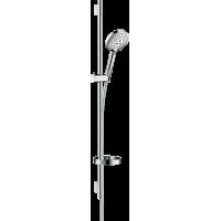 Душевой набор hansgrohe Raindance Select S 120 3jet EcoSmart с душевой штангой и мыльницей 26633000