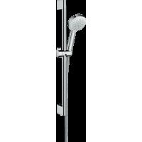 Душевой набор hansgrohe Crometta 100 Vario EcoSmart с душевой штангой 26654400