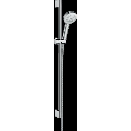 фото - Душовий набір hansgrohe Crometta 100 1jet з душовою штангою 26658400