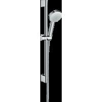 Душевой набор hansgrohe Crometta 100 1jet EcoSmart с душевой штангой 26660400