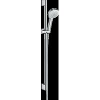Душевой набор hansgrohe Crometta 100 Vario EcoSmart с душевой штангой 26662400