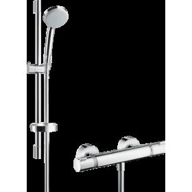Душовий набір Croma 100 Vario EcoSmart з термостатом Ecostat Comfort і душовою штангою 27032000
