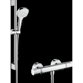 Душевой набор Croma Select E Vario/Ecostat Comfort Combi 0,65 м, белый/хром 27081400