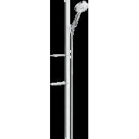 Душевой набор hansgrohe Raindance Select S 120 3jet EcoSmart с душевой штангой и мыльницей 27647400