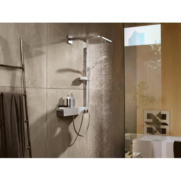 фото - Душевой набор hansgrohe Raindance Select S 120 3jet с душевой штангой 90 см и мыльницей 27648400