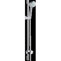 Душевой набор hansgrohe Croma 100 Vario EcoSmart со штангой и мыльницей 27653000