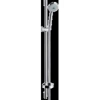 Душевой набор hansgrohe Croma 100 Multi EcoSmart со штангой 90 см и мыльницей 27655000