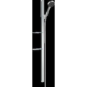 Душовий набір hansgrohe Rainfinity 130 3jet з душовою стійкою 150 см і мильницею 27673000