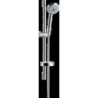 Душевой набор hansgrohe Croma 100 Multi EcoSmart с душевой штангой 65 см и мыльницей 27777000