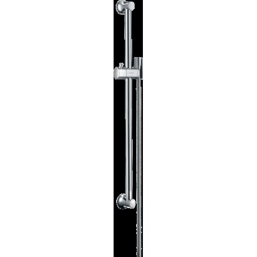 фото - Штанга для душа hansgrohe Unica Classic 65 см со шлангом для душа 27617000