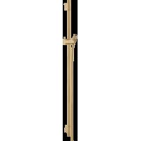 Штанга для душа hansgrohe Unica S Puro 90 см со шлангом для душа, бронза матовый 28631140