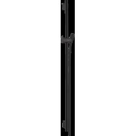 Штанга для душа hansgrohe Unica S Puro 90 см со шлангом для душа, черный матовый 28631670