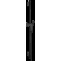 Штанга для душа hansgrohe Unica S Puro 65 см со шлангом для душа, черный матовый 28632670