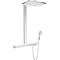 Душевая система hansgrohe Rainmaker Select Showerpipe 460 2jet с термостатом 27109400