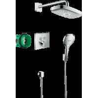 Душевая система hansgrohe Raindance Select E с термостатом ShowerSelect 27296000