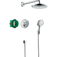 Душевая система hansgrohe Raindance Select S с термостатом ShowerSelect S 27297000