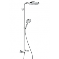 Душевая система hansgrohe Raindance Select S 240 Showerpipe с термостатом, хром 27633000