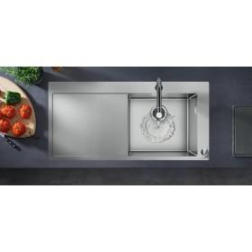 Мойка для кухни hansgrohe C71 C71-F450-07 43205000 с сушилкой слева