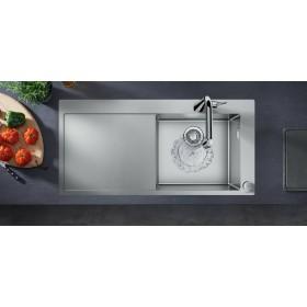 Мойка для кухни hansgrohe C71 C71-F450-02 43208000 с сушилкой слева