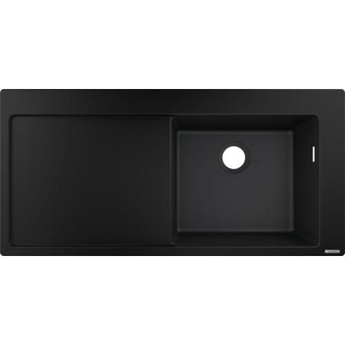 фото - Мойка для кухни hansgrohe S51 S514-F450 43314170 с сушилкой слева