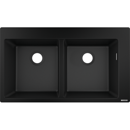 фото - Мойка для кухни hansgrohe S51 S510-F770, черный графит 43316170