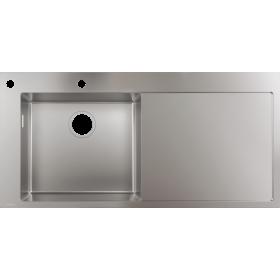 Мойка для кухни hansgrohe S71 S718-F450, нержавеющая сталь 43332800
