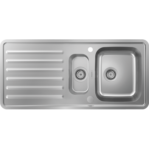 фото - Мийка для кухні hansgrohe S41 S4113-F540 43339800
