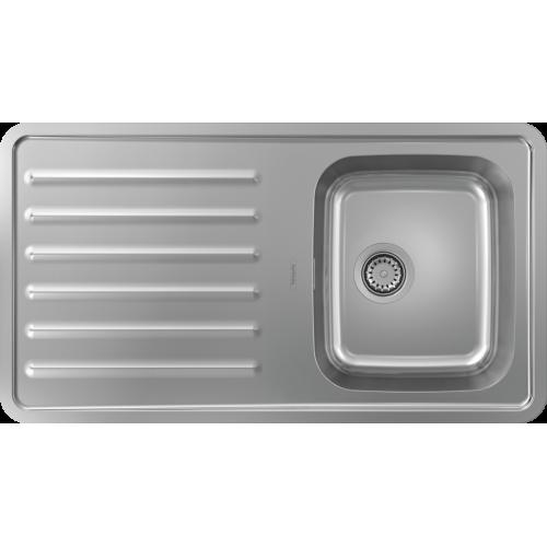 фото - Мойка для кухни hansgrohe S41 S4111-F340 43340800