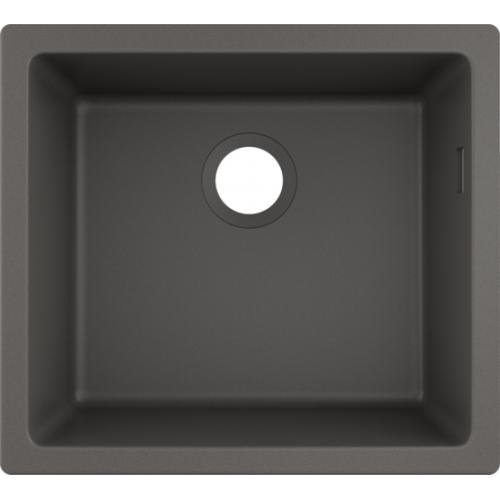 фото - Мойка для кухни hansgrohe S51 S510-U450, серый камень 43431290