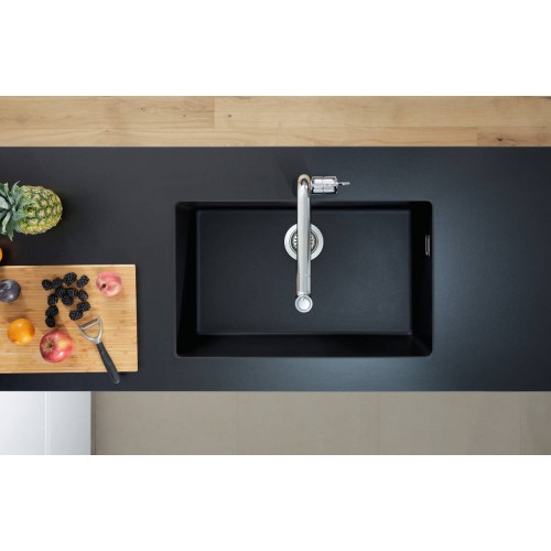 фото - Мойка для кухни hansgrohe S51 S510-U660, черный графит 43432170