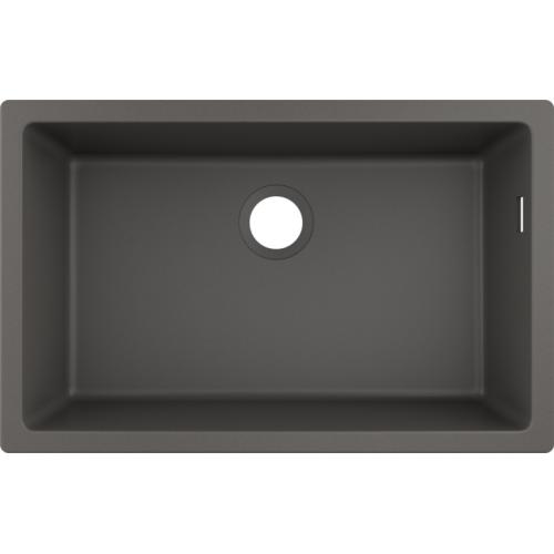 фото - Мойка для кухни hansgrohe S51 S510-U660, серый камень 43432290