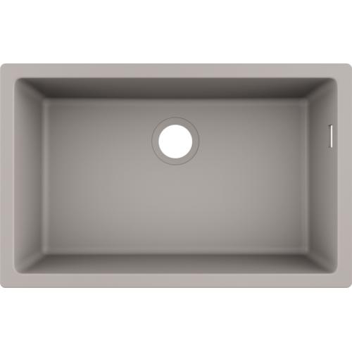 фото - Мойка для кухни hansgrohe S51 S510-U660, бетон 43432380