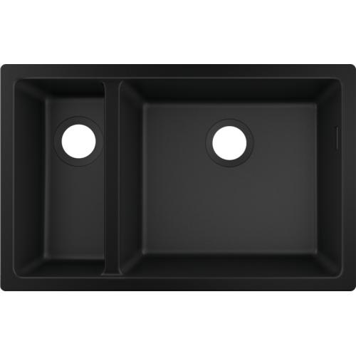 фото - Мойка для кухни hansgrohe S51 S510-U635, черный 43433170