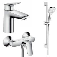 Набор смесителей для ванны 3 в 1 hansgrohe Logis 71600113 (71100000, 26584400, 71600000)