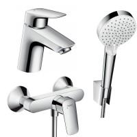 Набор смесителей для ванны 3 в 1 hansgrohe Logis 71600114 (71070000, 26694400, 71600000)