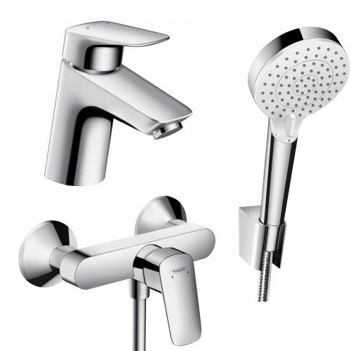 фото - Набор смесителей для ванны 3 в 1 hansgrohe Logis 71600114