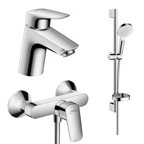 фото - Набор смесителей для ванны 3 в 1 hansgrohe Logis 71600115
