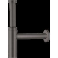 Сифон для раковины hansgrohe, матовый черный/хром 52105340