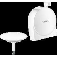Внешняя часть излива на ванну с набором для слива и переливаа hansgrohe Exafill S 58117700 белый