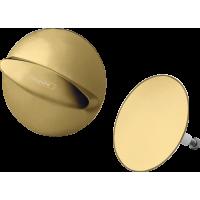 Внешняя часть набора для слива и перелива hansgrohe Flexaplus 58185990 золото