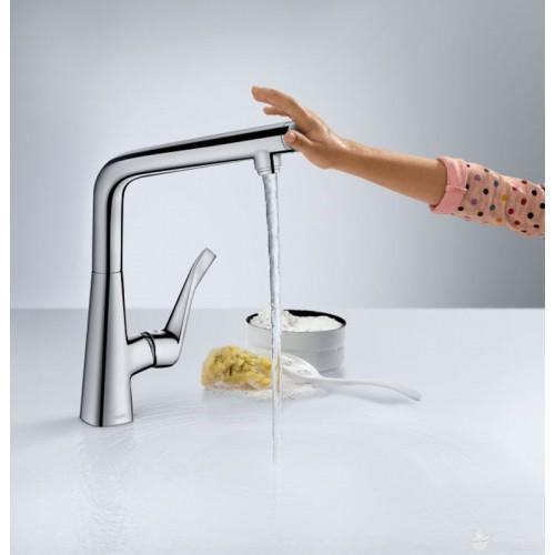 фото - Смеситель hansgrohe Metris для кухонной мойки 14823000