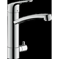 Змішувач hansgrohe Focus для кухонної мийки з запірним вентилем, хром 31803000