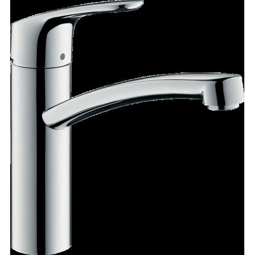 фото - Змішувач hansgrohe Focus для кухонної мийки з поворотним виливом, хром 31804000