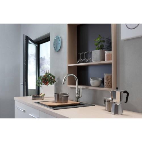 фото - Змішувач hansgrohe Focus M42 для кухонної мийки 71802000