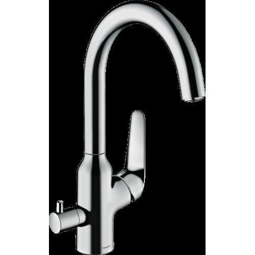 фото - Смеситель hansgrohe Focus M42 для кухонной мойки 71803000
