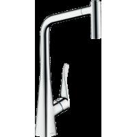 Смеситель hansgrohe Metris M71 для кухонной мойки, хром 73801000